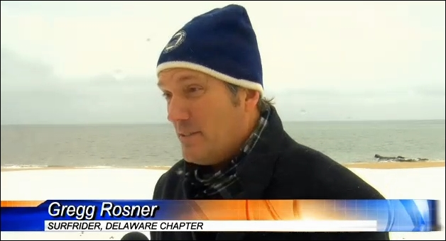 Gregg W. Rosner on WBOC News Discussing Outfall Pipe Approval